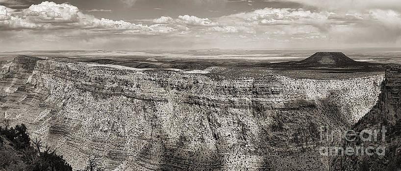 Chuck Kuhn - BW Grand Canyon II