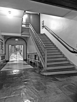 BW West End Stairs by Regina McLeroy