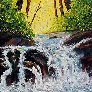 By Flowing Waters by Meaghan Troup