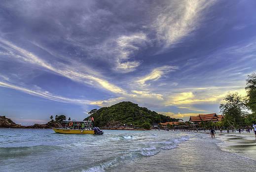 By The Beach by Mario Legaspi