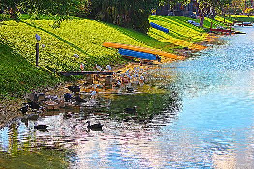 By The Lake by Bob Whitt