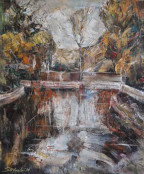 By the Pond by Stefano Popovski