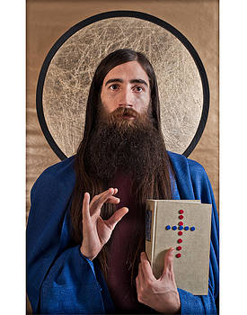 Byzantine Jesus by Christopher Prosser