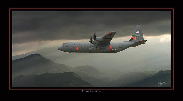 C-130 Hercules Air Tanker by Larry McManus