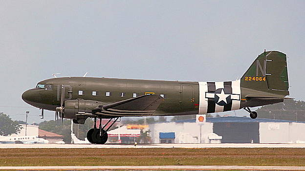 Howard Markel - C-47 Take off