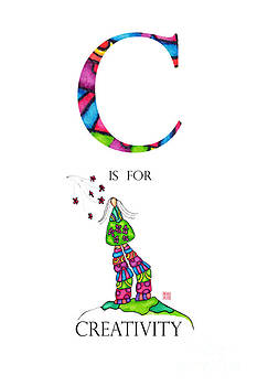 C is for Creativity by Emily Lupita Studio