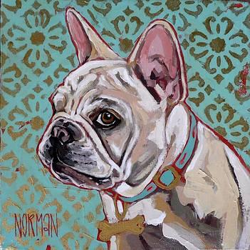 Caanan Custom Pet Portrait by Amanda Norman