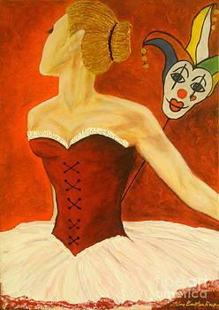 Cabaret Ballerina by Elena  Constantinescu