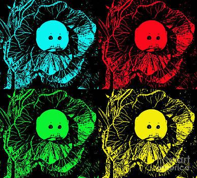 Cabbage Patch Pop Art by Annette Allman