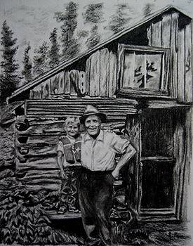 Cabin at Little John by Joan Pye