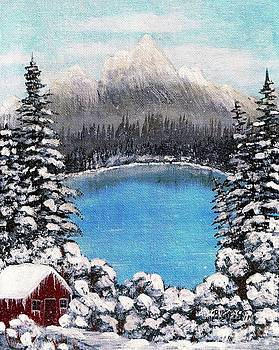 Barbara Griffin - Cabin by the Lake - Winter