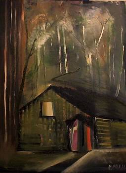 Cabin In The Forest by Gregory Dallum
