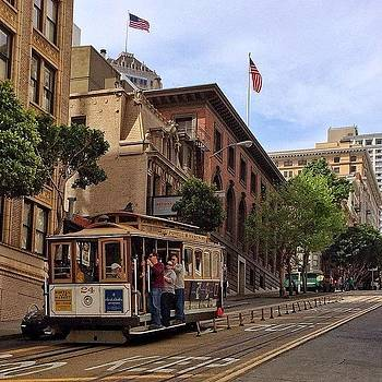 Cable Car Downhill by Karen Winokan