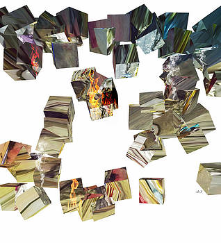 Cacophony of Cubes by Jan Steadman-Jackson