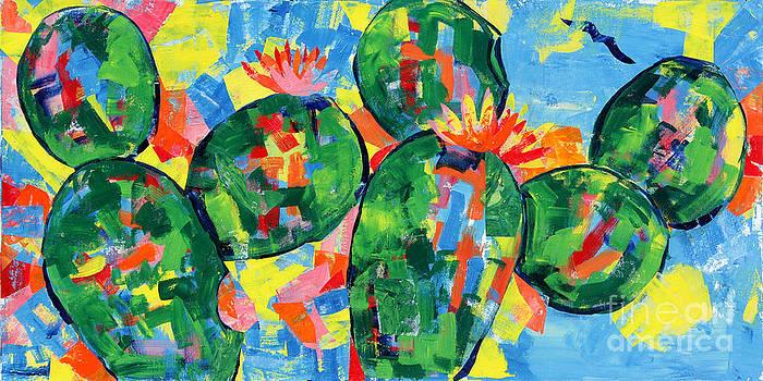 Cacti by Paula Drysdale Frazell