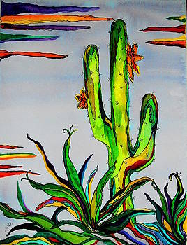 Cactus Day by Sharon Leigh