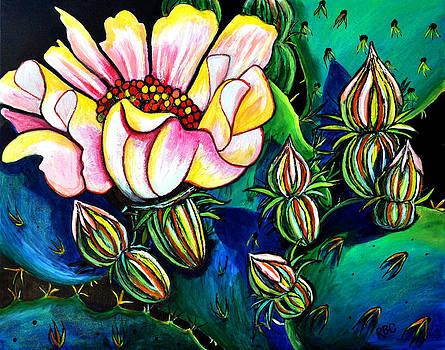 Cactus Flower II by Bob Crawford