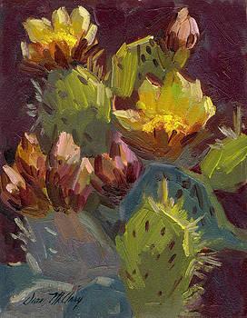 Diane McClary - Cactus in Bloom 1