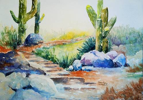 Cactus Trail by Marilyn  Clement