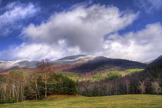 Debra and Dave Vanderlaan - Cades Cove First Dusting of Snow