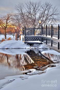 Terri Gostola - Cadillac Michigan City Park Bridge