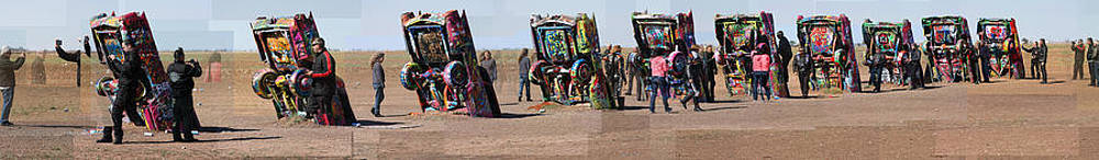 Cadillac Ranch Horizon by Stephen Farley