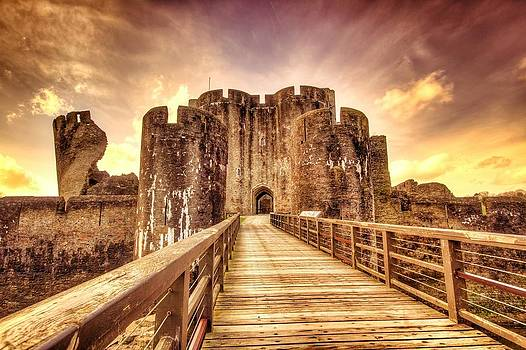Caerphilly Castle by Musa GULEC