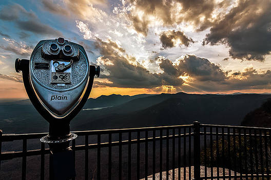 Caesars Head - The Sunset View by Dustin Ahrens