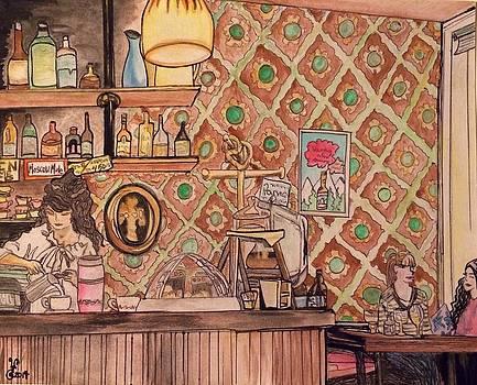 Cafe Brecht Amsterdam by Yabette Swank
