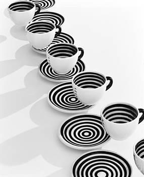 Daniel Furon - Cafe DeStijl Coffee Cups
