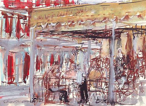 Cafe Du Monde  by Edward Ching