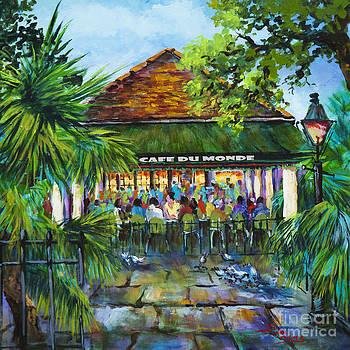 Cafe du Monde Morning by Dianne Parks
