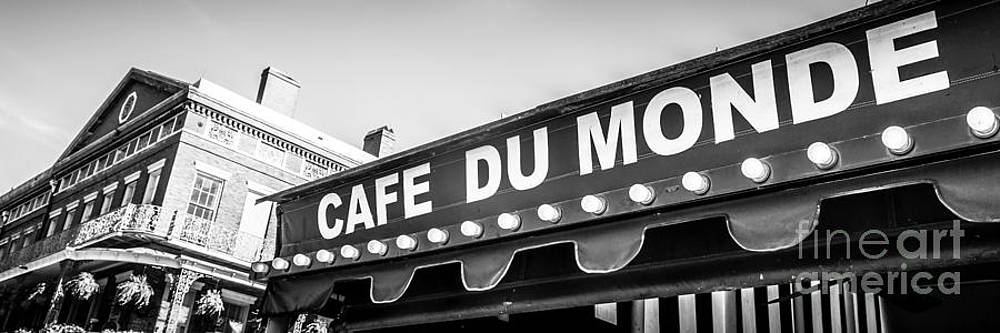 Paul Velgos - Cafe Du Monde Panoramic Picture