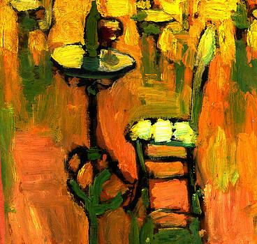 Cafe in Paris by Daniel Bonnell
