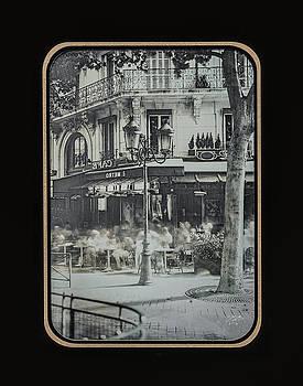 Cafe Le Metro - Paris by Marinus En Charlotte