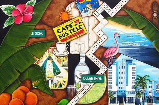 Cafe Miami by Joseph Sonday