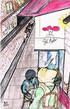 Cafe Mode Paris by Yabette Swank