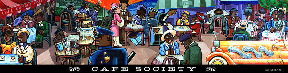 Cafe Society by Keith Shepherd