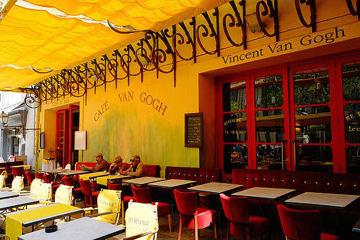 Cafe Vincent van Gogh by August Timmermans