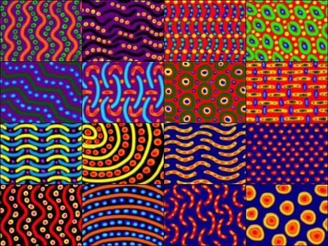 Caffeine Doodle Collage 3 by Jan Edward Vogels