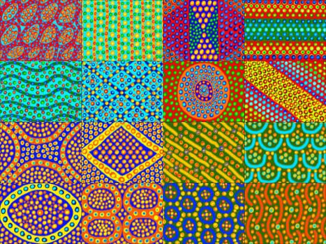 Caffeine Doodle Collage 7 by Jan Edward Vogels