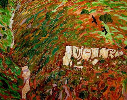 Cahuenga Peak ravens by David Olson