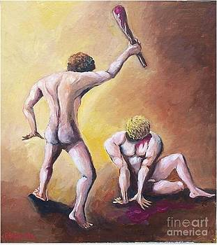 Cain and Abel by Jean Pierre Bergoeing
