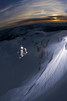 Mt. Baker Sunset by Kevin Westenbarger