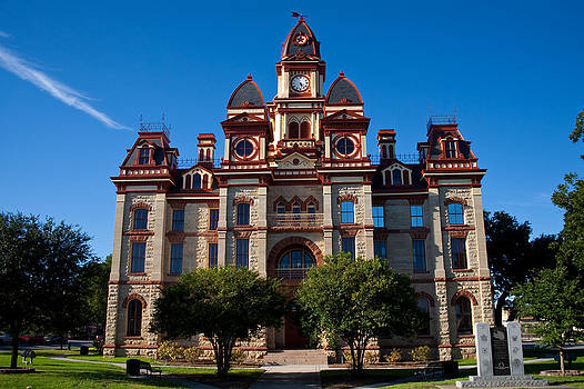 Caldwell County Courthouse by Mark Weaver