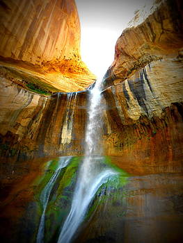 Calf Creek Falls 2 by Carrie Putz