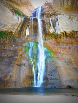 Calf Creek Falls by Carrie Putz