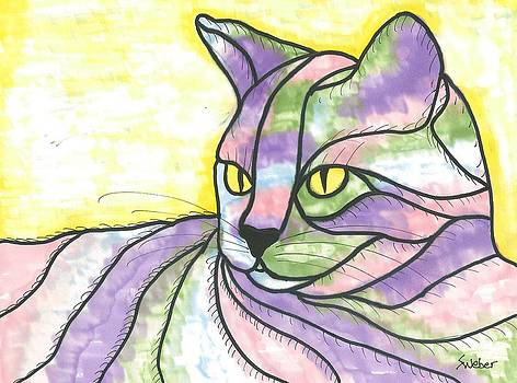Calico Cat by Susie Weber
