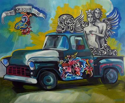 California by Carmen Stanescu Kutzelnig