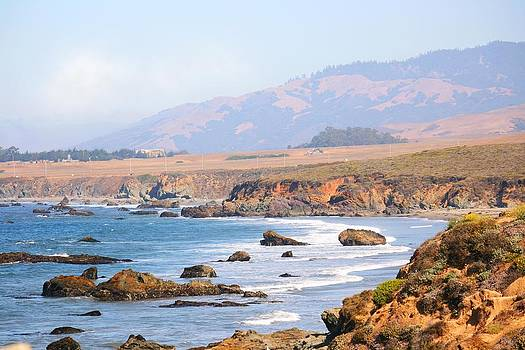 Veronica Vandenburg - California Coast Along Monterey